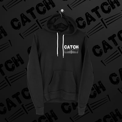 CATCH Pro-Wrestling: Logo Hoodie - Pins & Knuckles Wrestling Merch United Kingdom