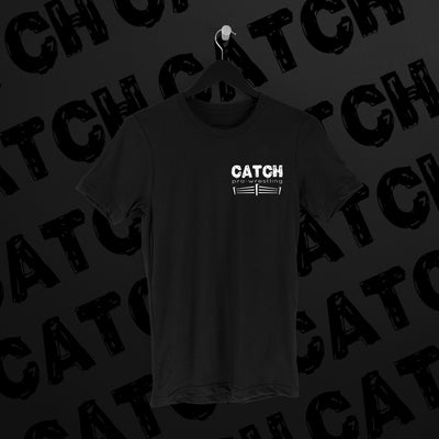 CATCH Pro-Wrestling: Logo Tee - Pins & Knuckles Wrestling Merch United Kingdom