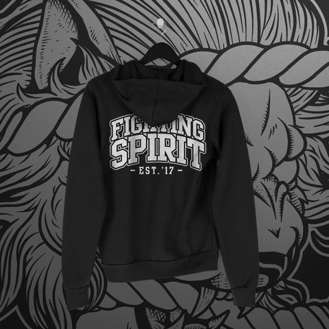 Fighting Spirit Pro Pullover Hoodie - Pins & Knuckles Wrestling Merch United Kingdom