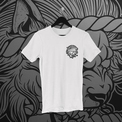 Fighting Spirit Pro: Emblem White Tee