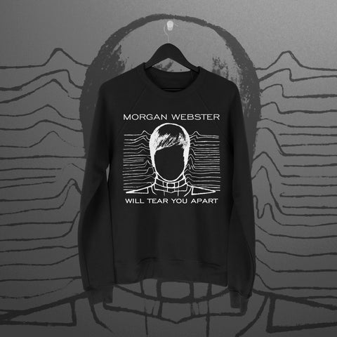 Flash Morgan: Tear You Apart Black Sweatshirt - Pins & Knuckles Wrestling Merch United Kingdom