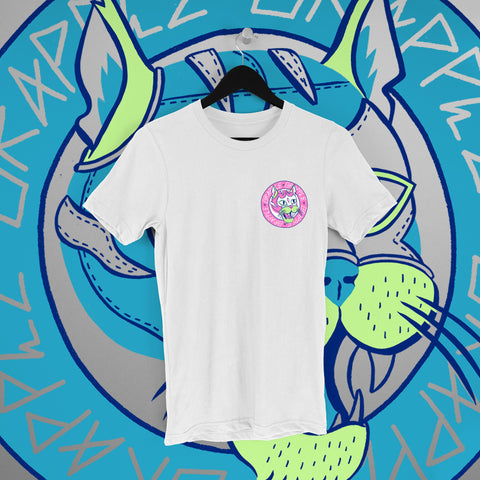 Grapple: GrappleCat White Tee