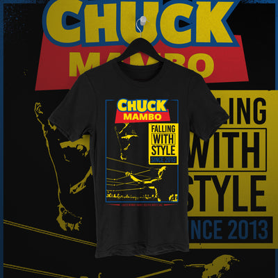 Chuck Mambo: Falling With Style black tee