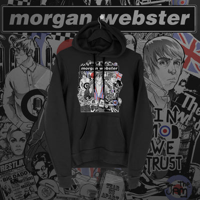 Flash Morgan: In Mod We Trust Black Hoodie - Pins & Knuckles Wrestling Merch United Kingdom