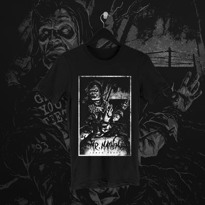 James Drake:  Mr Mayhem Tee