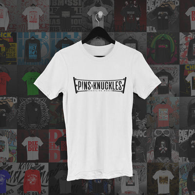 Pins & Knuckles Wrestling Tee #1 - Pins & Knuckles Wrestling Merch United Kingdom