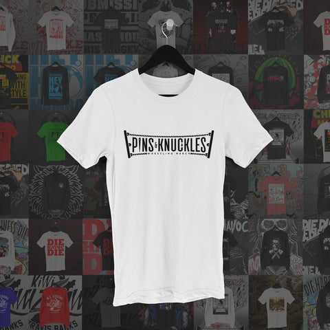 Pins & Knuckles Wrestling Tee #1