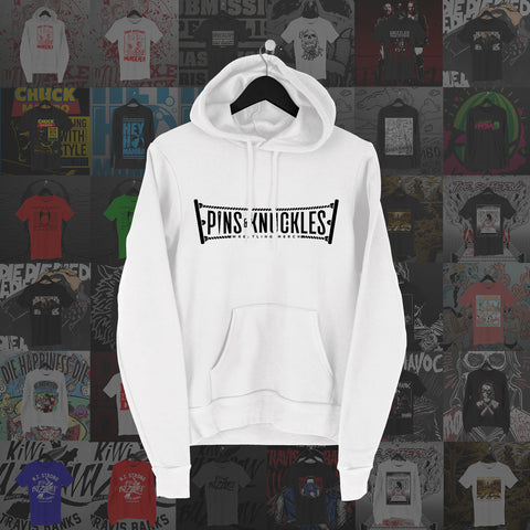 Pins & Knuckles Wrestling Merch Hoodie #1