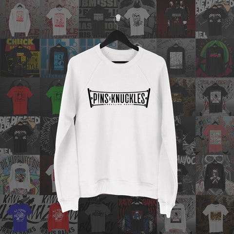 Pins & Knuckles Wrestling Merch Sweater #1