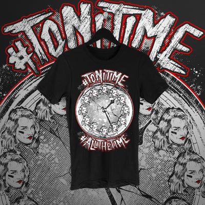 Toni Storm: Toni Time Tee - Pins & Knuckles Wrestling Merch United Kingdom