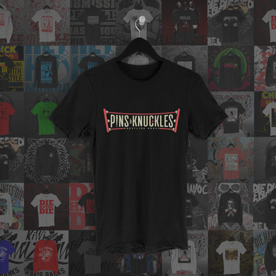 Pins & Knuckles Wrestling Merch Tee #2 - Pins & Knuckles Wrestling Merch United Kingdom