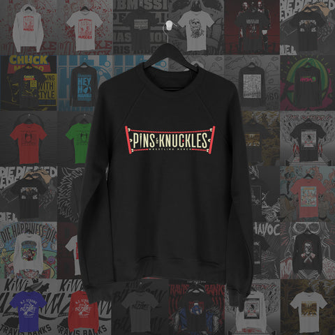 Pins & Knuckles Wrestling Merch Sweater #2