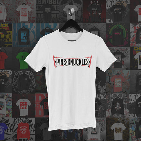 Pins & Knuckles Wrestling Merch Tee #3 - Pins & Knuckles Wrestling Merch United Kingdom