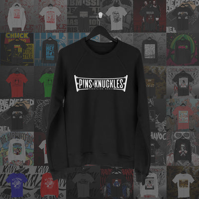 Pins & Knuckles Wrestling Merch Sweater #4 - Pins & Knuckles Wrestling Merch United Kingdom