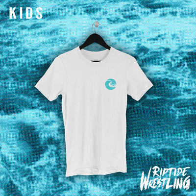 RIPTIDE Essentials KIDS Tee White