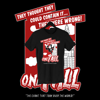 One Fall - Kong Full Print Shirt - Pins & Knuckles Wrestling Merch United Kingdom