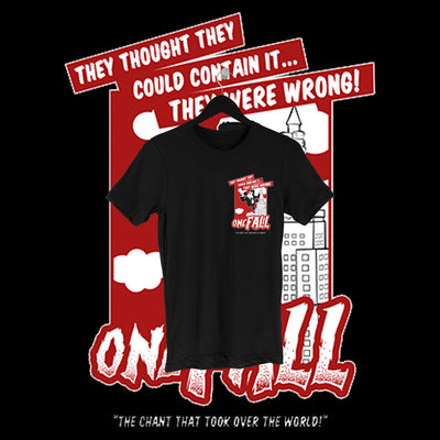 One Fall - Kong Pocket Print Shirt - Pins & Knuckles Wrestling Merch United Kingdom