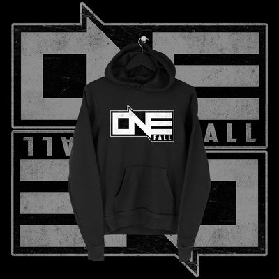 One Fall - One Fall Logo Full Print Hoodie - Pins & Knuckles Wrestling Merch United Kingdom