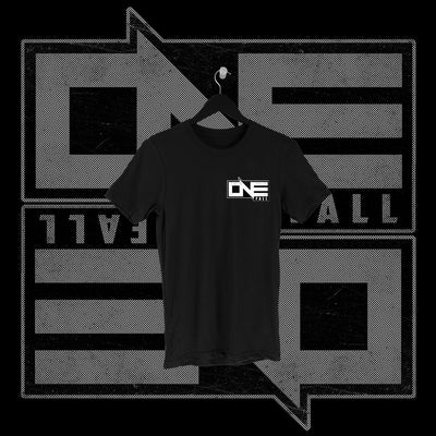 One Fall - One Fall Logo Pocket Print Shirt - Pins & Knuckles Wrestling Merch United Kingdom