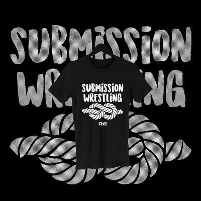 One Fall - Submission Wrestling Full Print Shirt - Pins & Knuckles Wrestling Merch United Kingdom