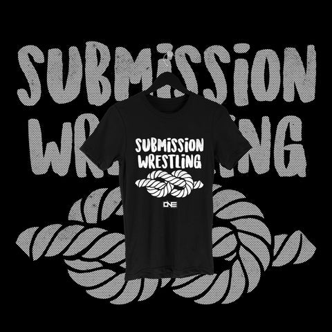 One Fall - Submission Wrestling Full Print Shirt