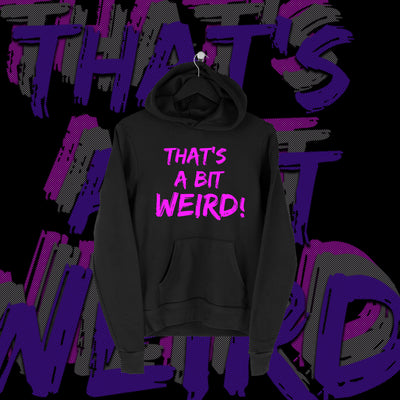 One Fall - That's A Bit Weird Full Print Hoodie