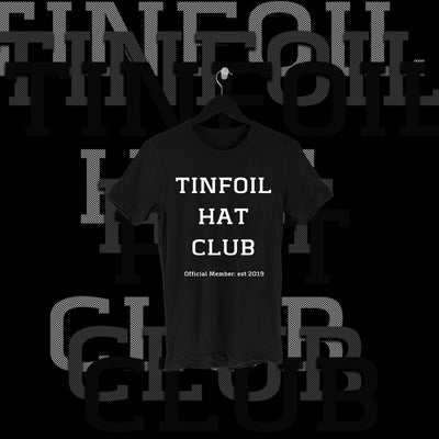 One Fall - Tin Foil Hat Club Full Print Shirt - Pins & Knuckles Wrestling Merch United Kingdom