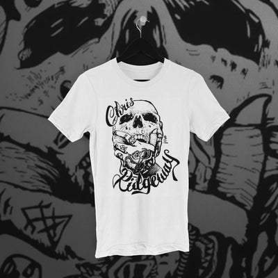 Chris Ridgeway: Skull Tee - Pins & Knuckles Wrestling Merch United Kingdom