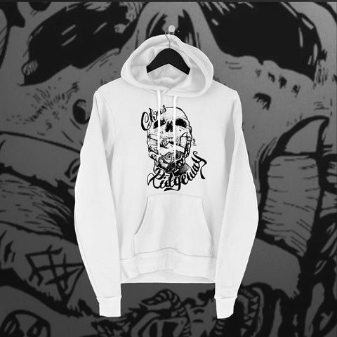 Chris Ridgeway: Skull Hoodie - Pins & Knuckles Wrestling Merch United Kingdom