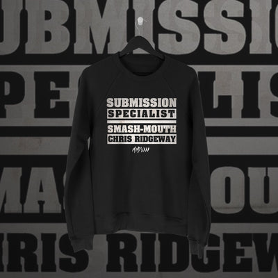 Chris Ridgeway: Submission Speciality Sweater - Pins & Knuckles Wrestling Merch United Kingdom