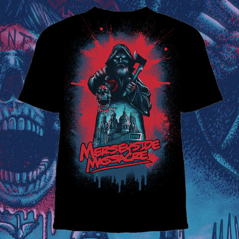 TNT Extreme Mersyside Massacre Shirt - Pins & Knuckles Wrestling Merch United Kingdom