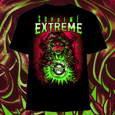 TNT Extreme Supreme Extreme Shirt - Pins & Knuckles Wrestling Merch United Kingdom