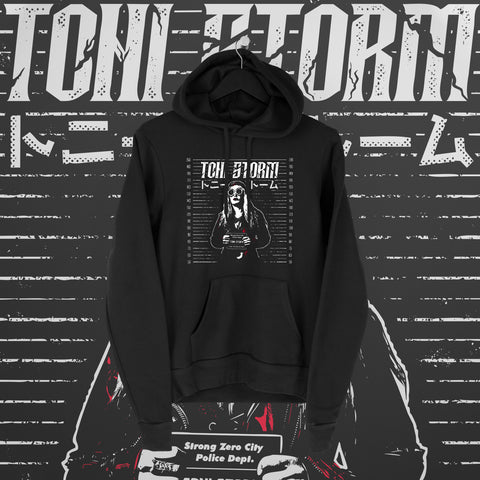 Toni Storm: Mugshot Hoodie - Pins & Knuckles Wrestling Merch United Kingdom
