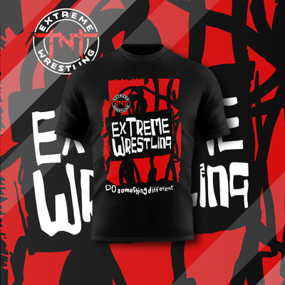 TNT Extreme: Do Something Different Tee - Pins & Knuckles Wrestling Merch United Kingdom