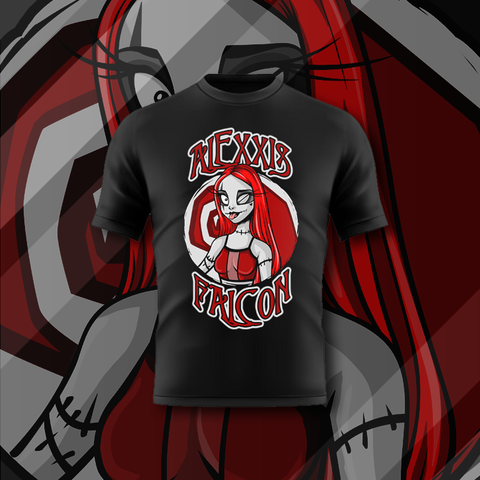 TNT Extreme: Alexis Falcon Tee - Pins & Knuckles Wrestling Merch United Kingdom