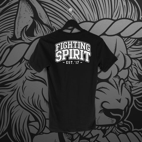 Fighting Spirit Pro: Emblem Black Tee