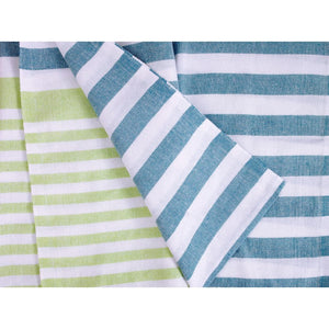 Multi Stripe Large Turkish Towels