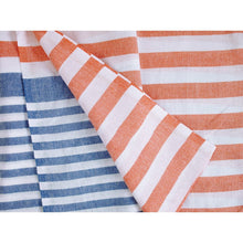 Load image into Gallery viewer, Multi Stripe Large Turkish Towels