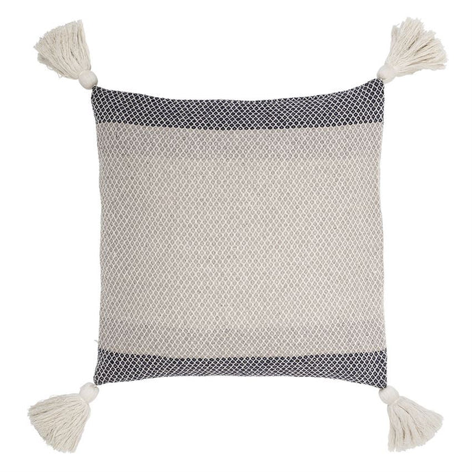 Square Pillow with Tassels