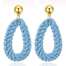 Colorful Handmade Statement Earrings