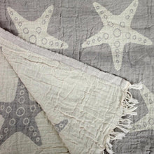 Load image into Gallery viewer, Starfish Turkish Towel