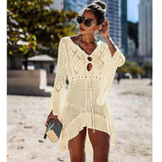 New Beach Cover Up Bikini Crochet Knitted Beachwear Summer Swimsuit Cover Up - Verde Limon Panama