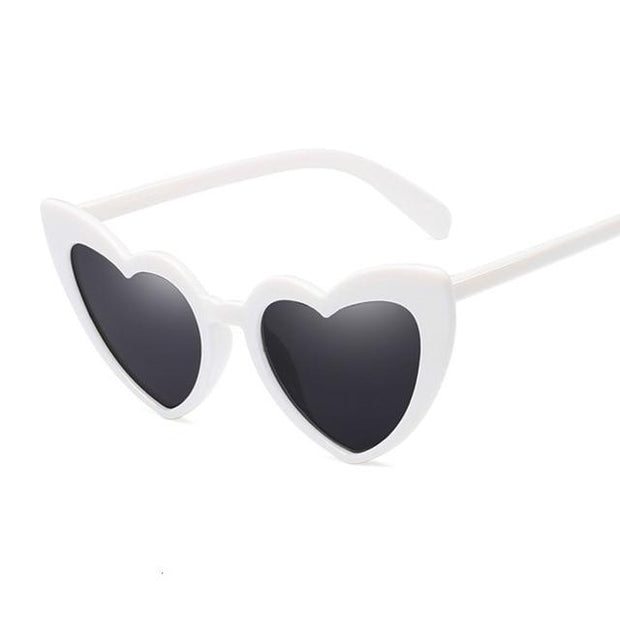 Heart Sunglasses  Brand Designer Cat Eye Sun Glasses UV400 - Verde Limon Panama