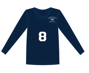Hyperspike Ladies Long-sleeve Volleyball Jersey