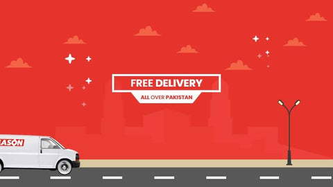 Free Delivery with reason