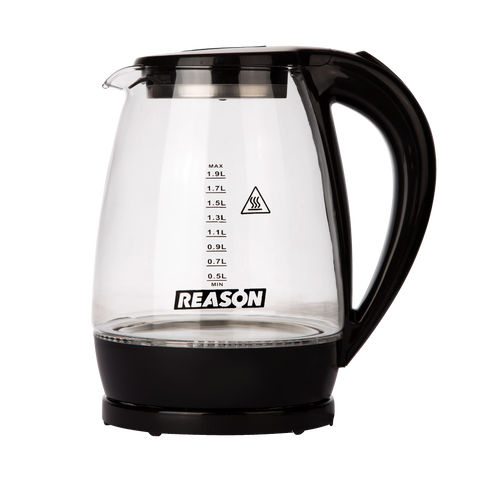 Reason Pour Electric Kettle Glass RK-3002