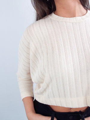Neutral Territory Cropped Top