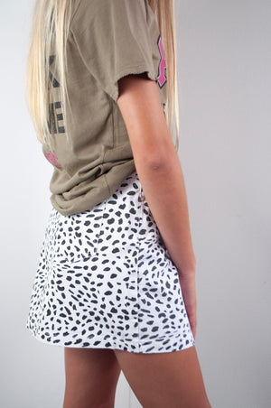 Seeing Spots Mini Skirt