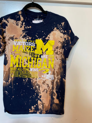 Michigan Tee : Size small  (#161)
