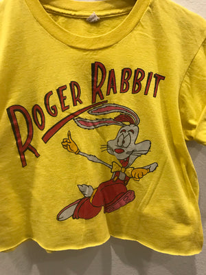 roger Rabbit Crop Tee